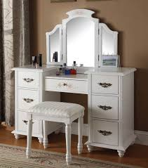 architecture incredible white makeup vanity table with best 25 set regarding inspirations 5 queen anne storage