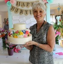 fun 60th birthday party ideas for mom. Flower Tiered Birthday Cake Fun 60th Party Ideas For Mom U