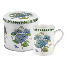 portmeirion botanic garden mug in a tin
