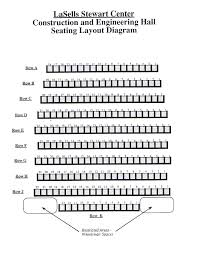 Seating Charts The Lasells Stewart Center Oregon State