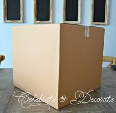 Decorating Cardboard Boxes Christmas Decorations With Cardboard Boxes Hometalk 4