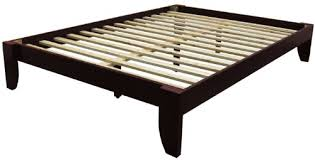 Amazon Copenhagen All Wood Platform Bed Frame King Medium
