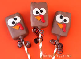 thanksgiving rice krispie treats. Wonderful Thanksgiving Chocolate Dipped Rice Krispie Treat Turkeys Decorated With Candy Clay Are  Perfect Treats For Thanksgiving Inside Thanksgiving Treats