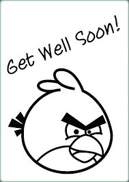 Get Well Coloring Pages Get Well Soon Printable Coloring Pages Get