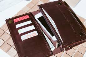 leather wallet men s wallets business card holders handmade leather wallet men s purse montpellier
