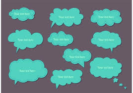 Word Bubble Templates Cute Thought And Word Bubble Templates Download Free