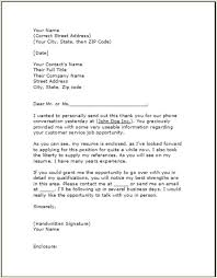 Thank You Letter Follow Up Letter Template