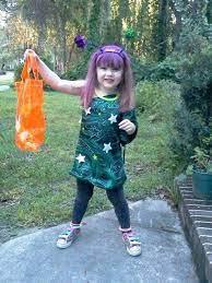 cute homemade alien costume my daughter