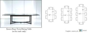 standard dining room size best large dining room table dimensions dining table size 8 dining table