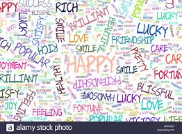 Positive Graphic Design Happy Illustrations Of Positive Emotion Word Cloud Good