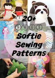Free Stuffed Animal Patterns Beauteous The Best Free Softie And Plushie Patterns So Sew Easy