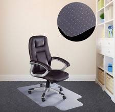 pvc home office chair floor. New PVC Mat Home Office Carpet Hard Protector Desk Floor Chair Tranparent 20mm Pvc P