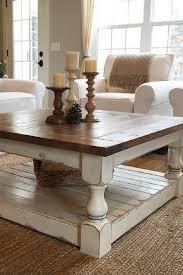 farm house living room coffee table
