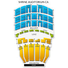 La Shrine Auditorium Seating Chart La Shrine Auditorium Map Related Keywords Suggestions La