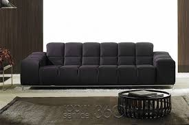 italian sofas simple living. Panda Modern Leather Sofa Designs Italian Decorations Black Simple Fabric Cotton Materials Table Round Comfortable Sofas Living R