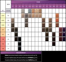 Igora Colour Chart Igora Color Gloss Mousse