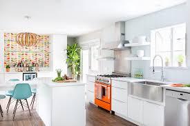 mid century modern kitchen. allandale mid-century modern kitchen remodel mid century r