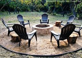 build a simple fire pit how to build a for your outdoor space tered thoughts simple build a simple fire pit easy outdoor