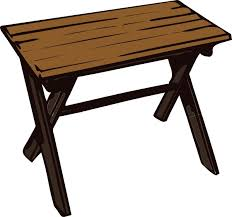 wood furniture clipart. Interesting Clipart Collapsible Wooden Table Clip Art On Wood Furniture Clipart