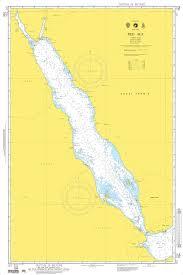 Nga Nautical Chart 704 Red Sea Omega