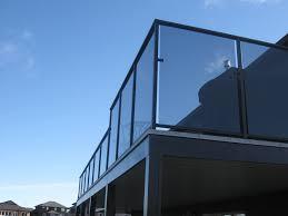 privacy glass railing