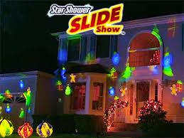 Star Shower Slide Show Holiday Laser Light 3 Gpm Shower Head