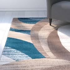 blue brown beige area rug cream gray design rick reviews furniture excellent scenic