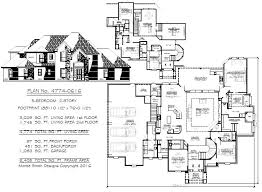 Wonderful 5 Bedroom To Estate Size House Plans
