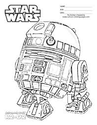 Small Picture R2D2 Coloring Page