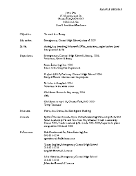 sample resume objective for any position examples of resume objectives - Sample  Objectives For Resume