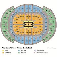 Factual American Airlines Arena Seat Chart American Airlines