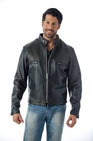 men s cow leather motorcycle coat