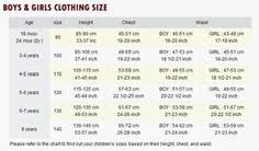 I Heart Raves Size Chart 14 Best Size Charts Images Size Chart Size Chart For Kids