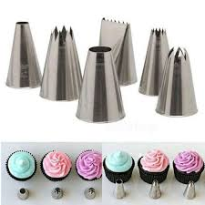 Cake Decorating Accessories Wholesale Wholesale Fondant Cupcake Sugarcraft Decorating Nozzles Cake 43