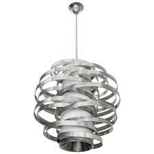 max sauze chandelier for sciolari in aluminium and acrylic italy 1960s for