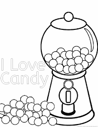 Coloring Pages Of Candy 2 M And All Pictures To Kids Best Free