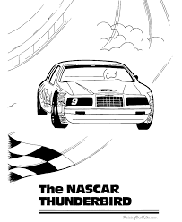 Small Picture Nascar Coloring Page 022