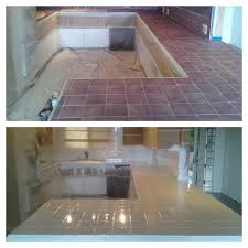 how to paint tile kitchen countertops kristilei com