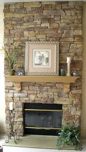 Airstone Fireplace Makeovers Stone Makeover Before And After Large Remodel