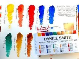 Daniel Smith 285610016 Alvaro Castagnet Master Artist Watercolor Set 10 Pack 5ml