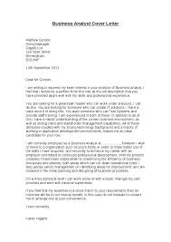 gallery of cover letter business analyst financial analyst cover letter