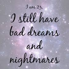 Quotes On Bad Dreams Best Of Bad Dreams And Nightmares Creative Pink Butterfly