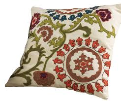 Embroidered Throw Pillows Image