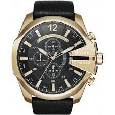 dz4344 diesel mens mega chief gold black chronograph watch diesel dz4344 mens mega chief gold black chronograph watch