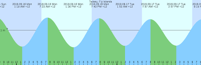 Tailevu Fiji Islands Tide Chart