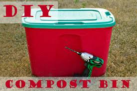 How To Make A Compost Bin At Home