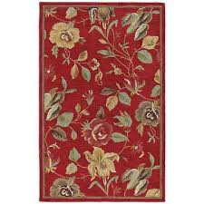 khazana savannah red 10 ft x 13 ft area rug