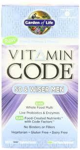 best garden of life vitamin code 50 and wiser men s multivitamin supplement 240 countb0032476yy flea and tick spot on garden of life vitamin code 50 and