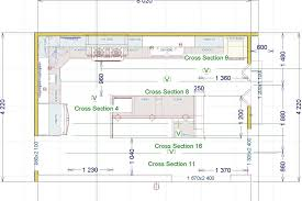 kitchen cabinet construction details working drawing dwg layouts with island detail of design over the sink