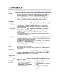 Resume Templates Samples Examples